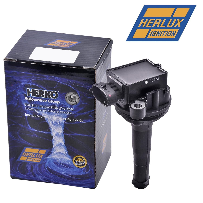 Herko B158 Ignition Coil For Volvo L5 L6 2.3L 2.4L 2.8L 2.9L 1999-2007