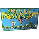 World passeport - Le tour du monde en 80 minutes - Jeu éducatif & stratégique pour connaître le monde
