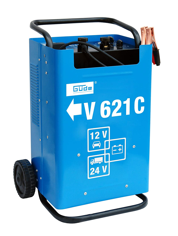 Guede V 621C Innen Blau–Ladegerät (Innenraum, Überladung, Reverse polarity, blau)