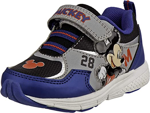 Disney Boys' Mickey Mouse Sneakers