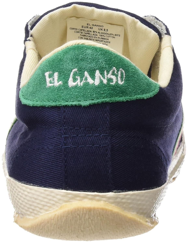 El Ganso Match Dark Blue Canvas Ribbon - Zapatillas para Hombre, Color  Azul, Talla 36: Amazon.es: Zapatos y complementos