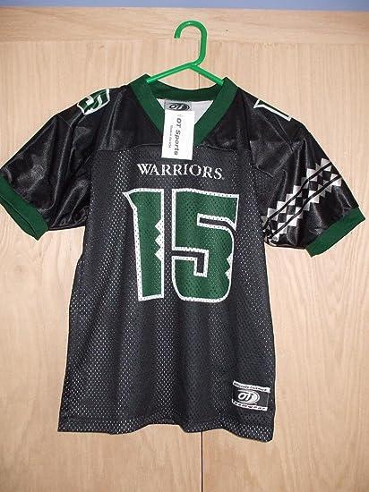 Amazon.com: Hawaii Warriors Colt Brennan Jersey Black #15 XXL 2XL ...
