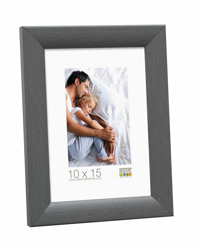Deknudt Frames S54SF7 Cadre Photo Bois Peint Gris 9 x 13 cm