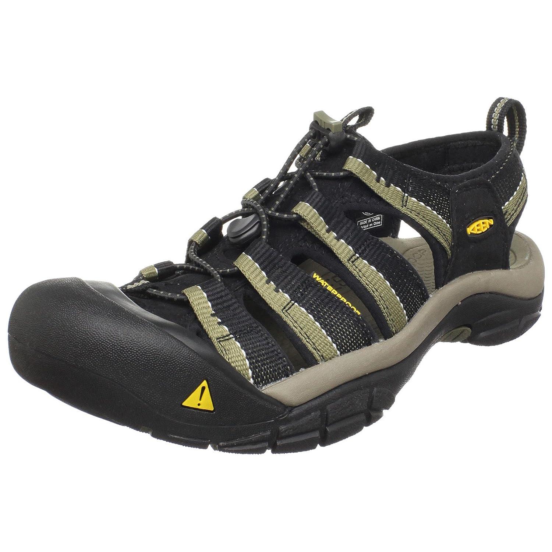 KEEN Men's Newport H2 Sandal B003Z4JQRQ 17 D(M) US|Black/Stone Grey