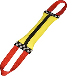 product image for Katie's Bumpers Double Tug Toy - Recycled Firehose Water Retrieval Toys - Colors Vary