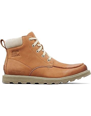 c4570d005002 Sorel - Men's Madson Moc Toe Waterproof Boot, All-Weather Footwear for  Everyday Wear