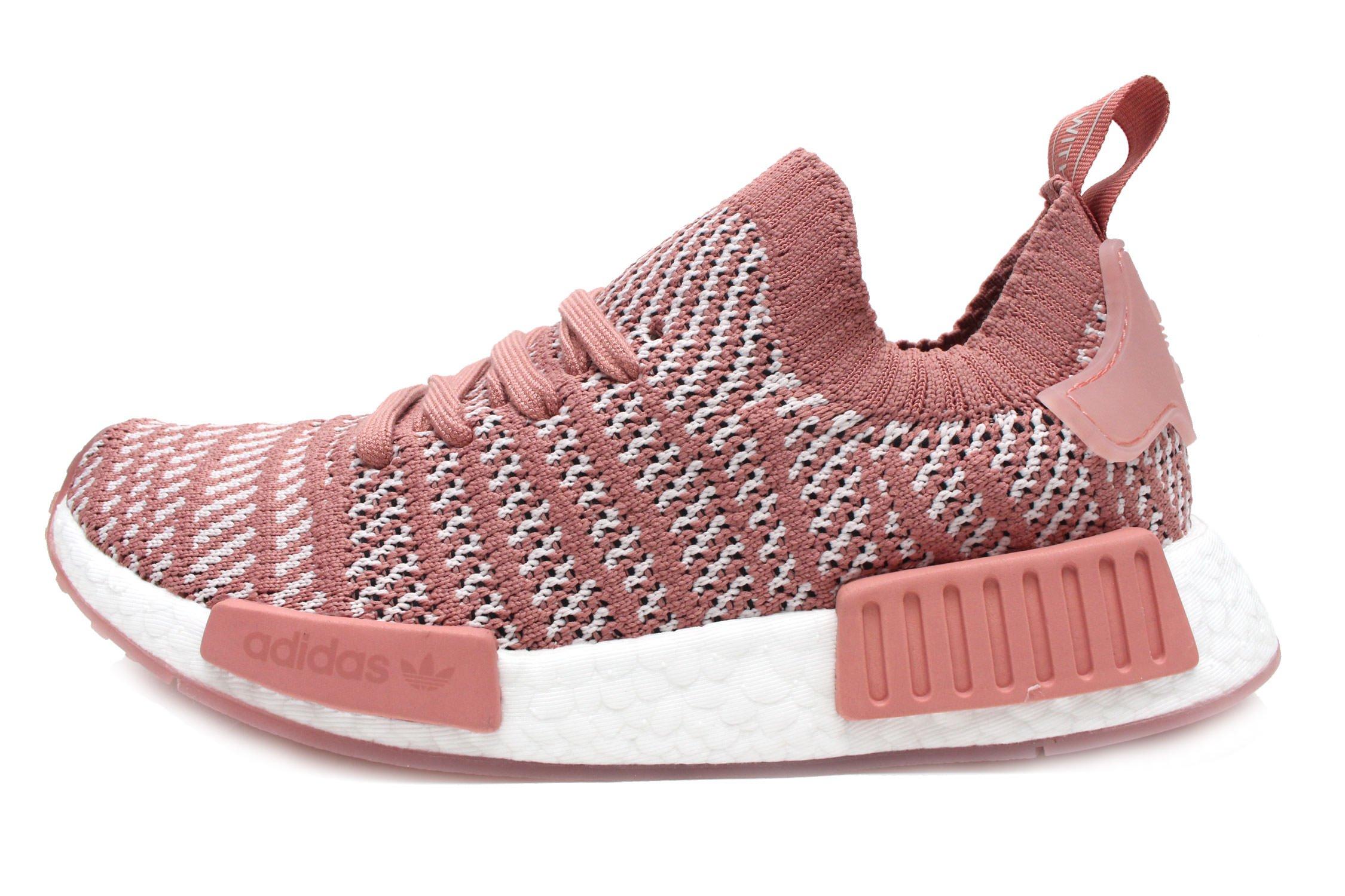 adidas Women's NMD_R1 STLT Primeknit Originals Multi Running Shoe 8 Women US