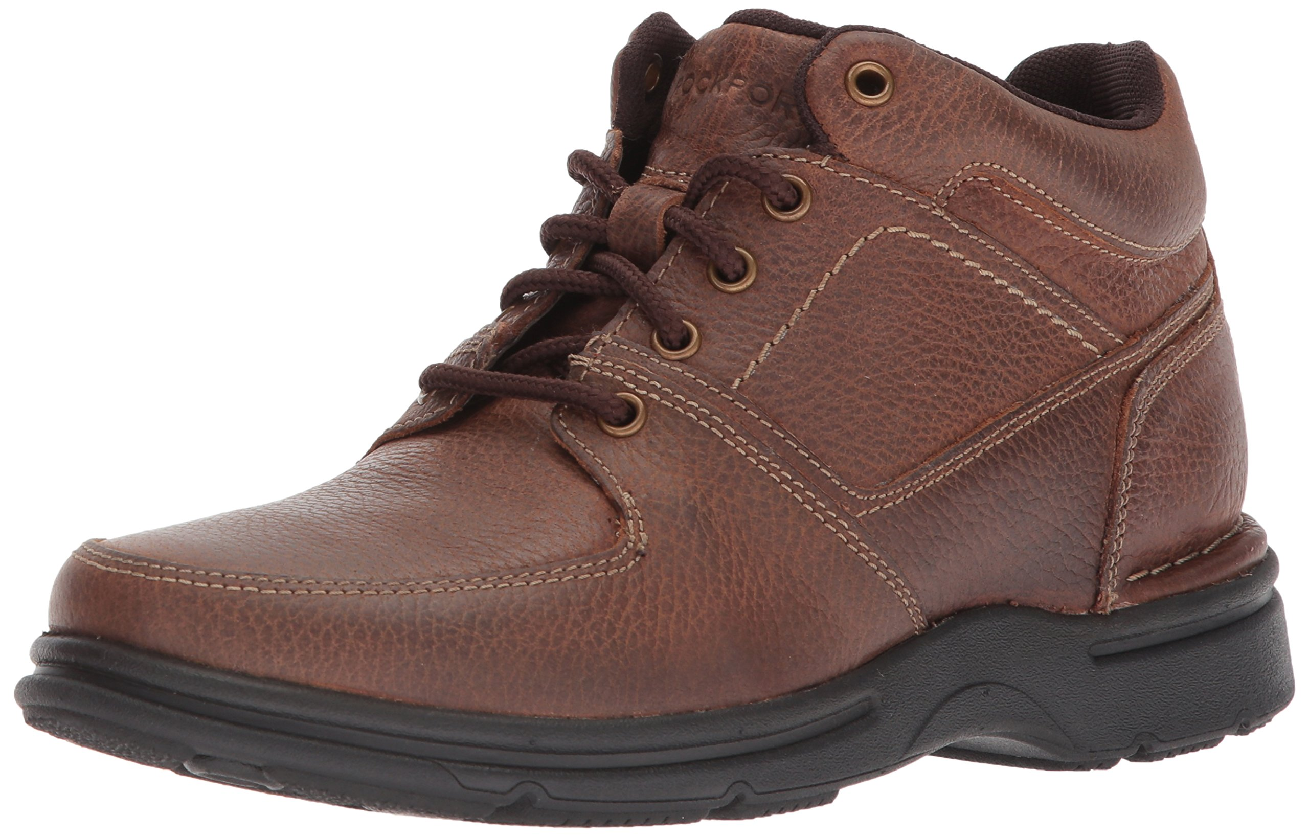 Rockport Men's Eureka Plus Boot Winter Boot, Brindle Brown, 11.5 M US