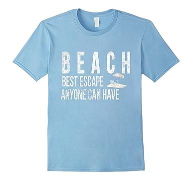 Spiaggia Migliore Di Fuga T-shirt hf9TAug