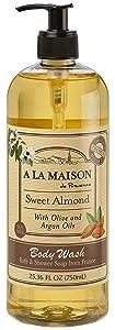 A La Maison Body Wash - Sweet Almond - 25.36 fl oz