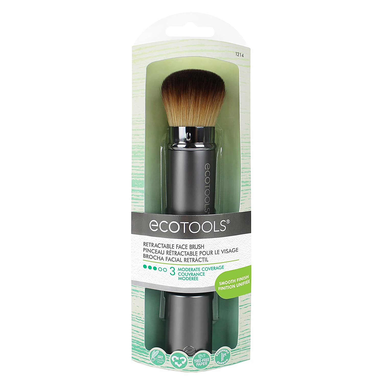 EcoTools Retractable Face Multitask Make-Up Brush Paris Presents 1214