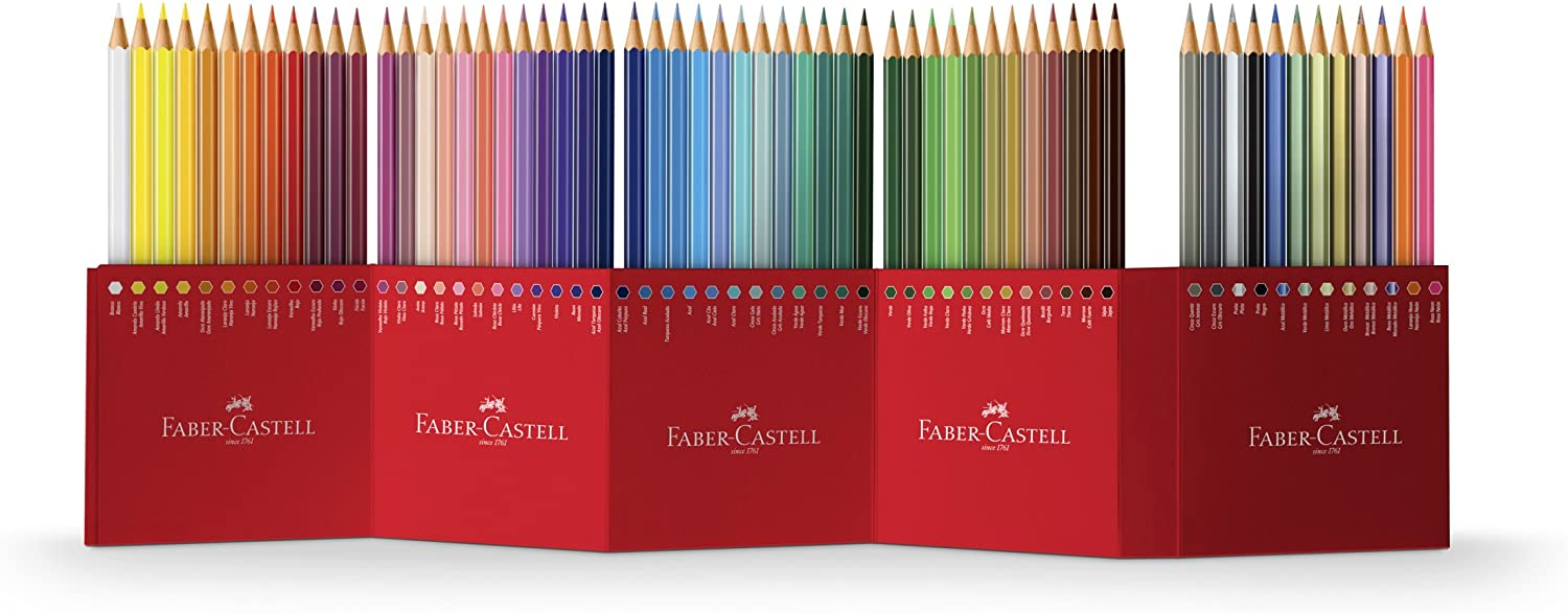 Pack of 60 Faber-Castell Colour Pencils