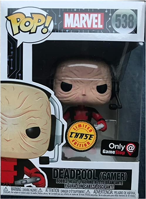 Funko POP Marvel Deadpool Gamer #537 Exclusive Gable-Head Exclusive