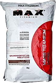 Mass Titanium 17500-3000g Refil Chocolate - Max Titanium, Max Titanium