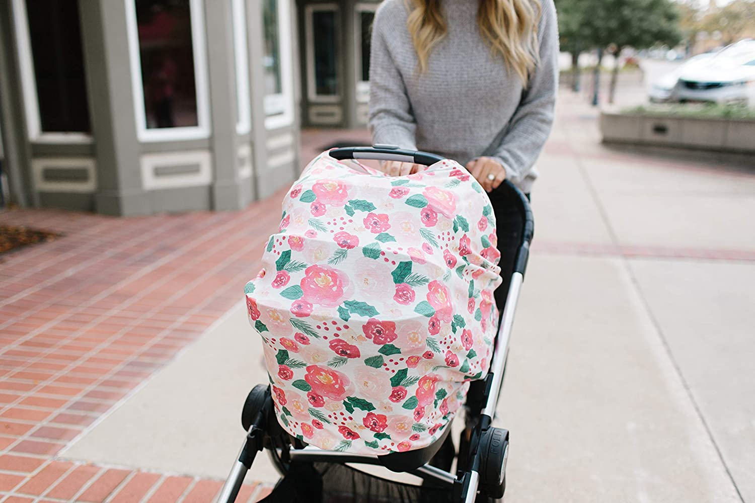 Stupendous Baby Car Seat Cover Canopy And Nursing Cover Multi Use Machost Co Dining Chair Design Ideas Machostcouk