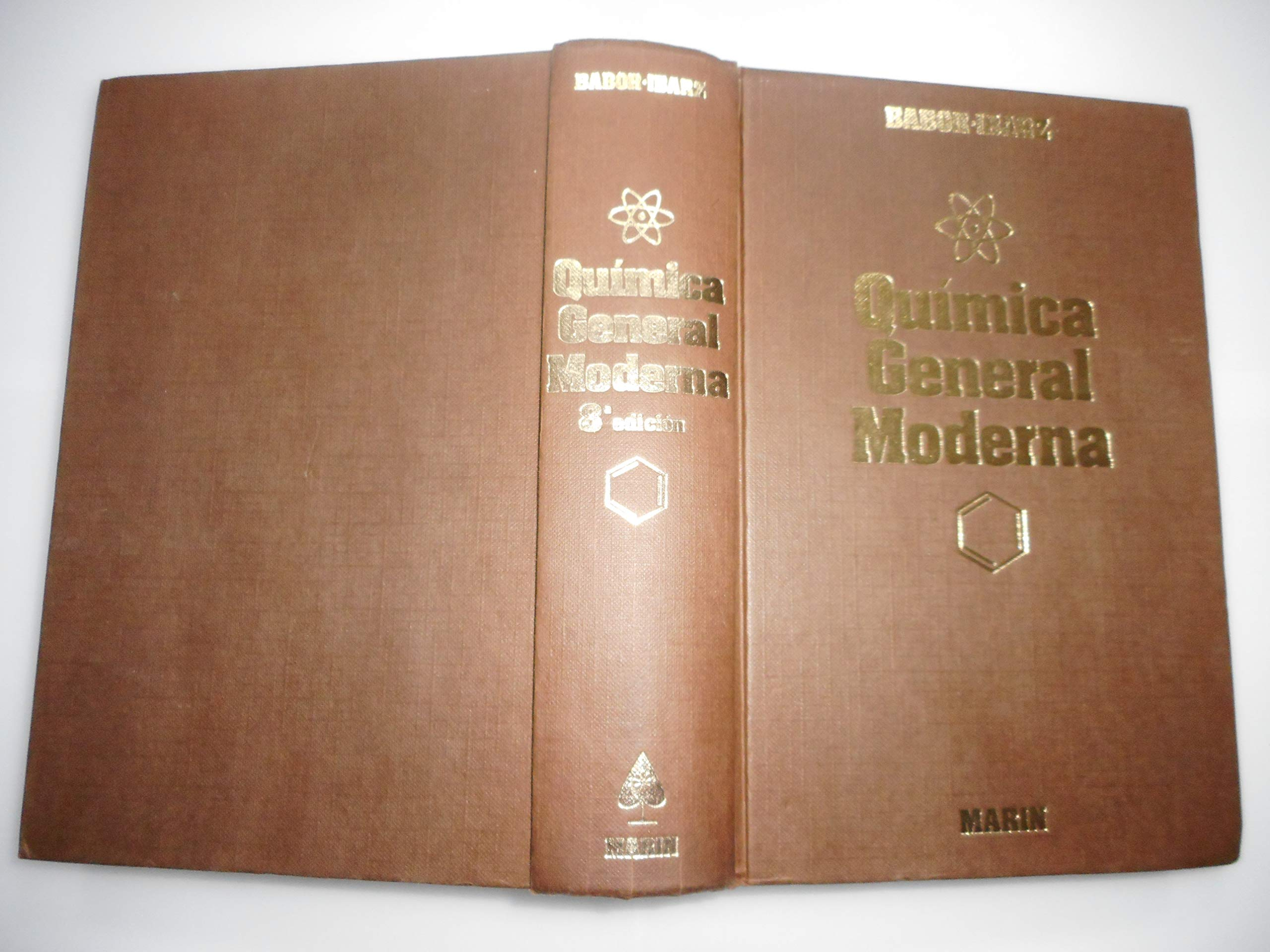 QUIMICA GENERAL MODERNA Hardcover – 1985