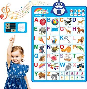Gifted Genius Interactive Alphabet Wall Chart