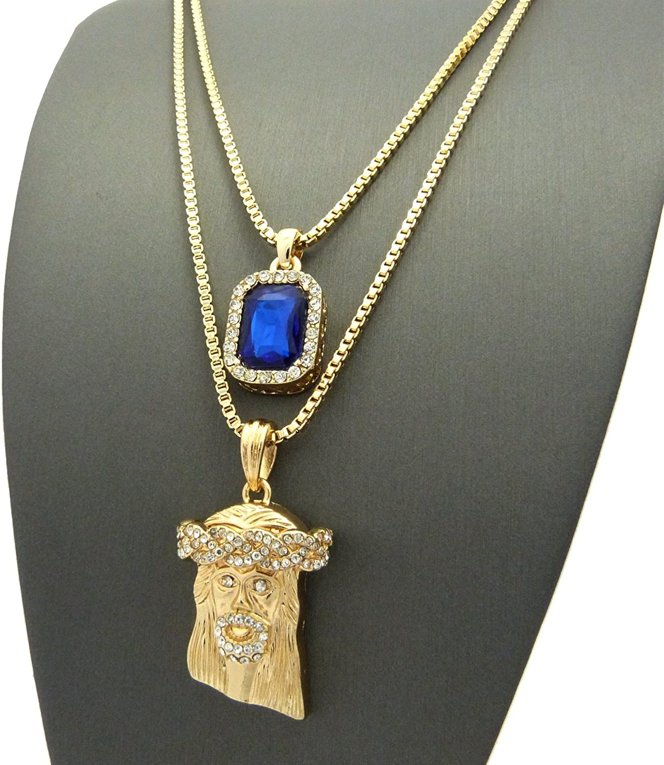 Details about  /SILVER SETTING WITH ROYAL BLUE STONE CROSS PENDANT ADJUSTABLE ROYAL BLUE CORD
