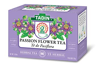 Amazon Com Tadin Herb Tea Co Passion Flower Herbal Tea