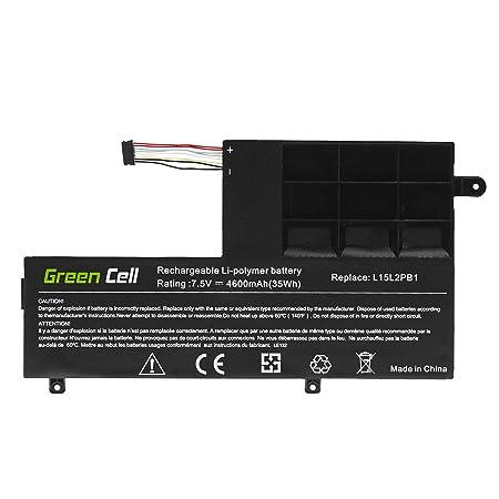 Green Cell® Batería para Lenovo Yoga 510-14AST 80S9 510 ...