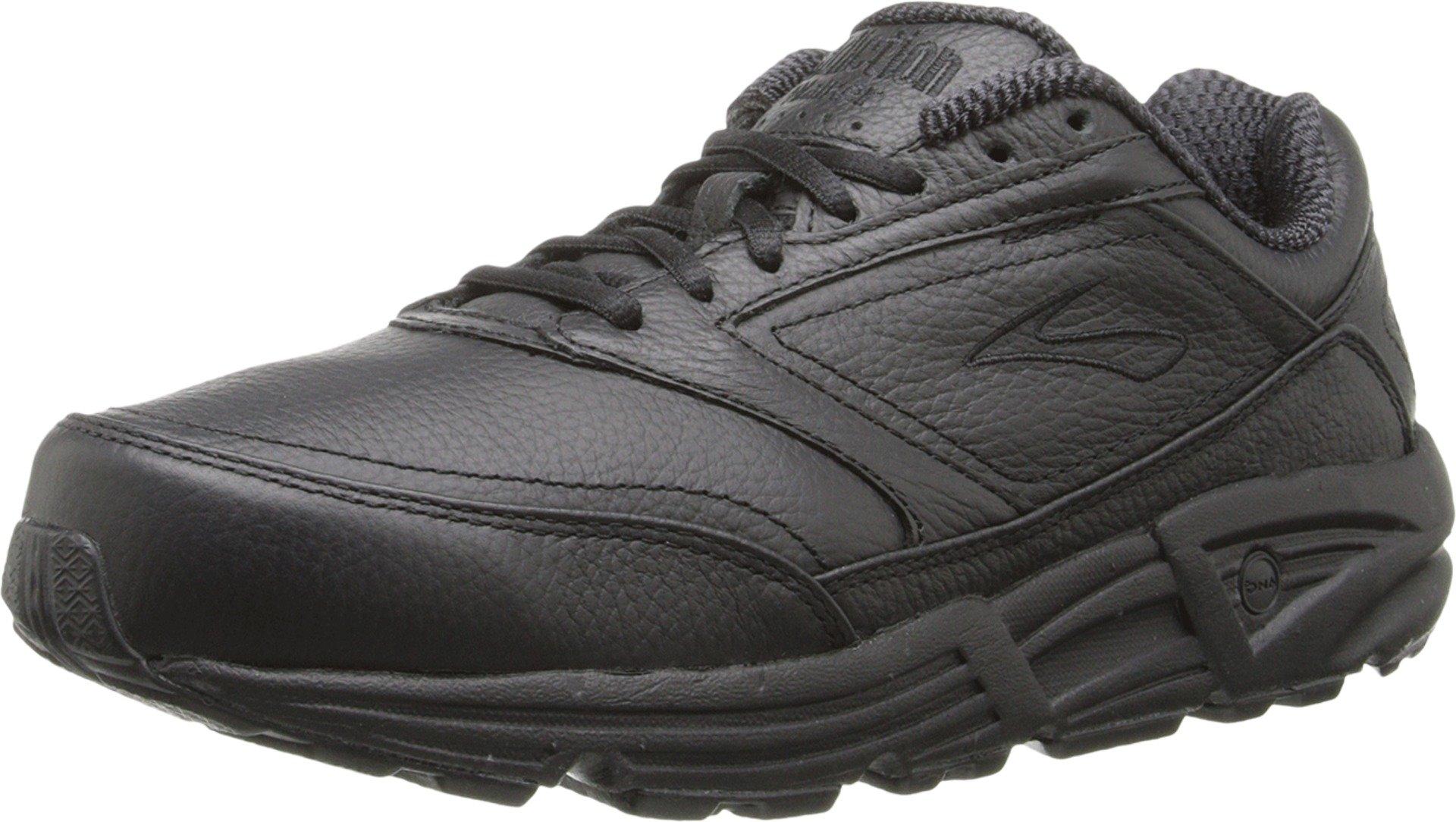Brooks Women's Addiction Walker Walking Shoe,Black,8.5 B