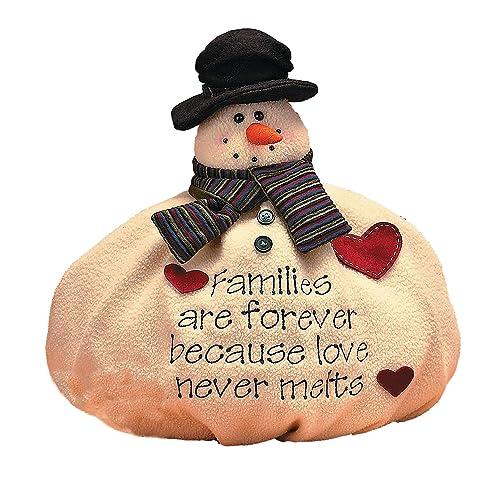 Softy the Snowman Christmas Snow Winter Family Decor - Christmas Snowman Decorations: Amazon.com
