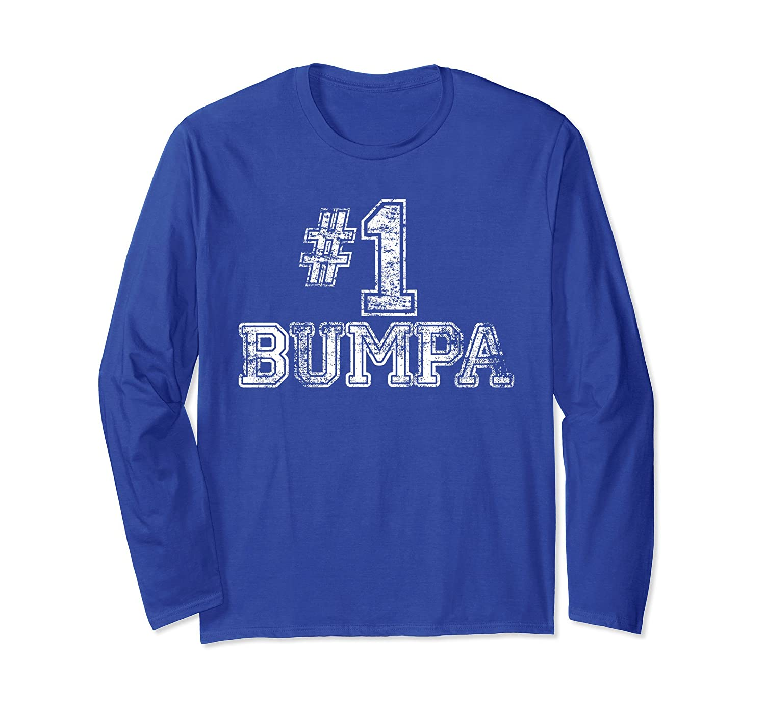 #1 Bumpa T Shirt - Number One Sports Jersey Gift Tee- TPT