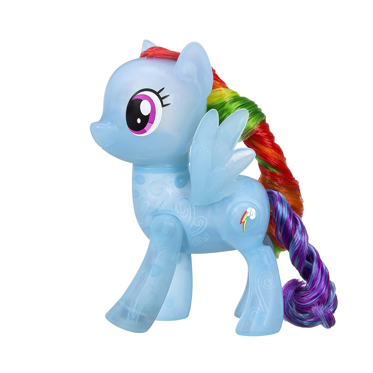 fe0c303834e937 Amazon.com  My Little Pony Shining Friends Rainbow Dash Figure  Toys   Games