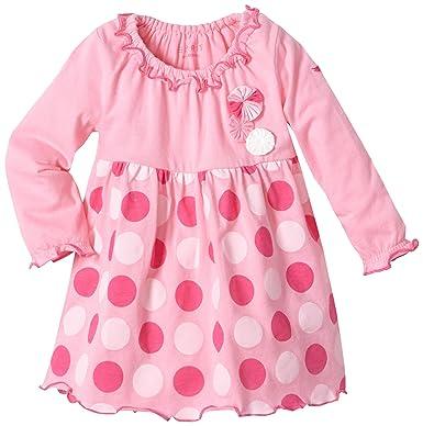 ESPRIT Baby Mädchen Kleid 073Eene001, Gr. 56 (0 3 Monate), Rosa (697 Potpourri Rose)