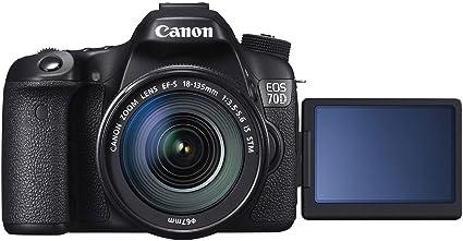 Canon EOS 70D + EF-S 18-135mm f/3.5-5.6 IS STM Juego de cámara SLR ...