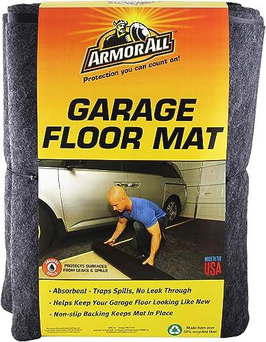 Armor All AAGFMC20 Charcoal 20' x 7'4 Garage Floor Mat