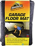 """Drymate Armor All AAGFMC22 Garage Floor Mat, 22' x 8'10"""", Charcoal (Made in The USA) Absorbent/Waterproof/Durable (Includes Double Sided Tape)"""