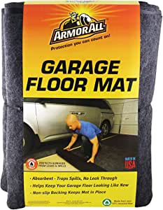 "Drymate AASMVC88100 Armor All Small Vehicle Mat - 8'4"" x 7'4"", Gray"