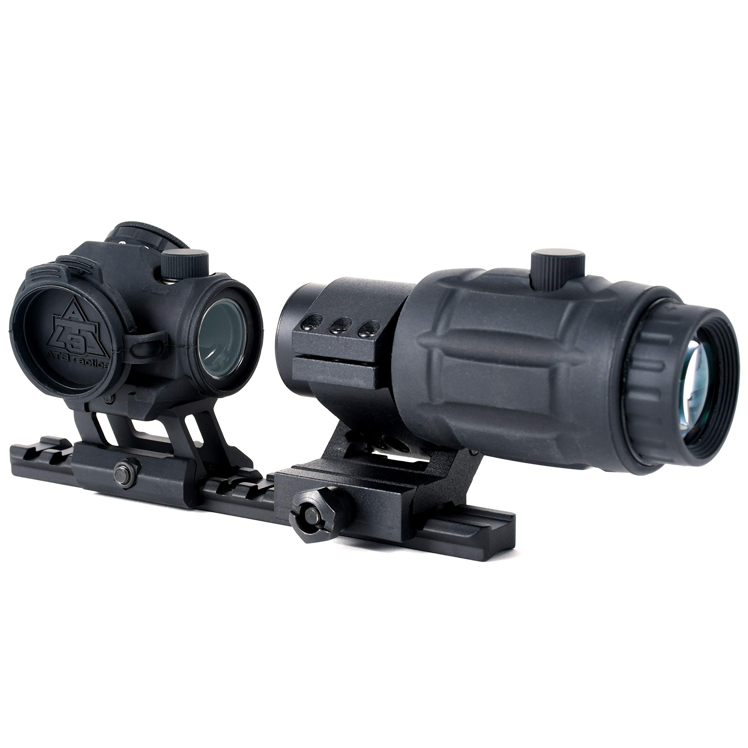 AT3 Tactical RD-50 Red Dot Sight + 3X RRDM Red Dot Magnifier Combo Kit by AT3 Tactical (Image #3)