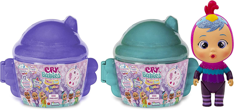 Cry Babies Magic Tears Sasha Rhino Series Winged House Fantasy New Open Pack