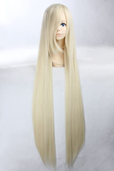 Amazon.com: Coolsky Wigs Costume Vocaloid Pandora Hearts Long Mix Beige Cosplay Wig: Beauty