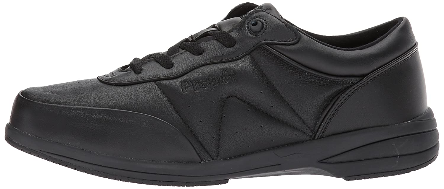 Propet Women's Washable Walker Sneaker B01MXSSH34 7 Slim US|Sr Black