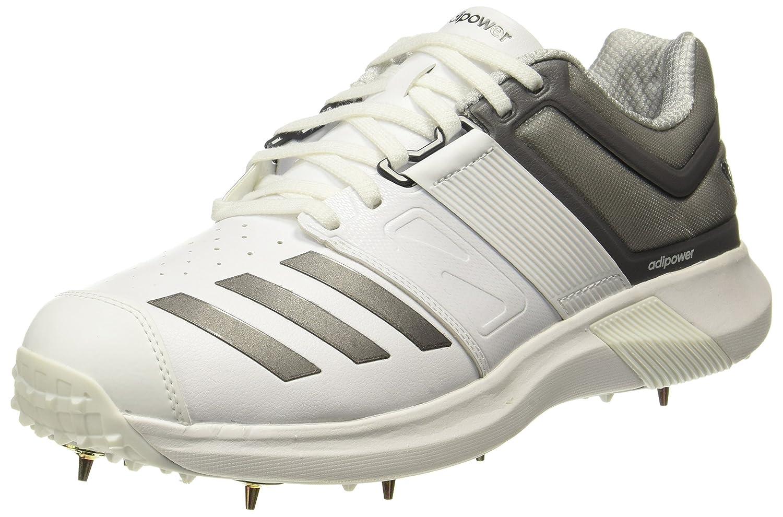adidas Men's Adipower Vector Cricket Shoes B077GZJ4CZ 12.5 D(M) US|White
