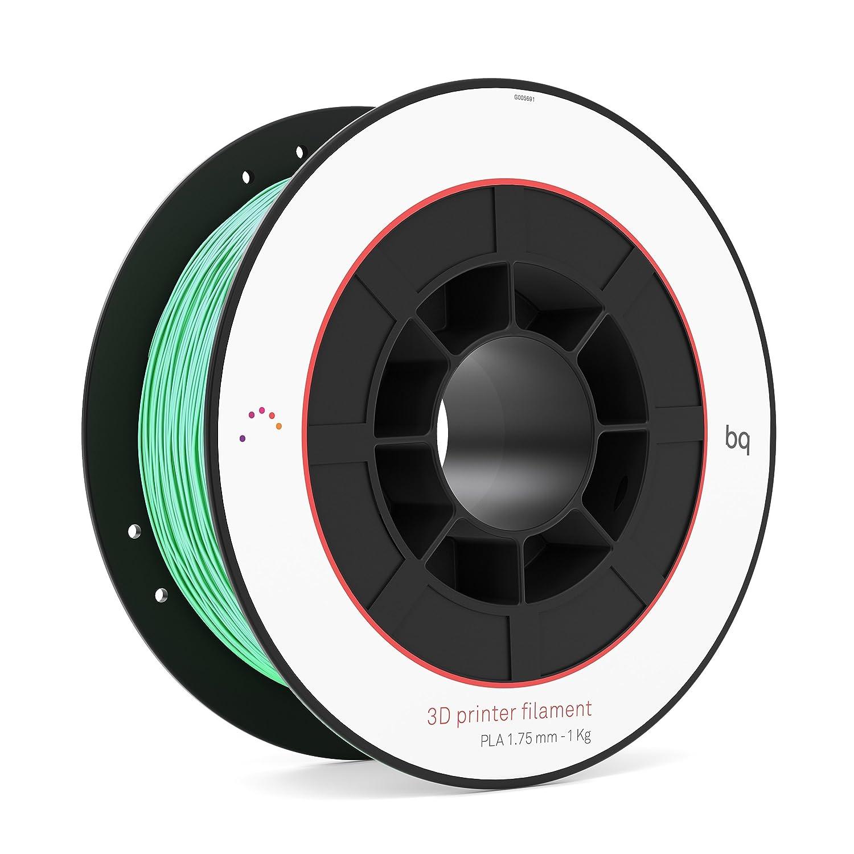 BQ F000098– Filament de PLA para impresión 3D, color turquesa
