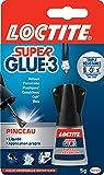 Loctite Super Glue-3 Pinceau 5 g