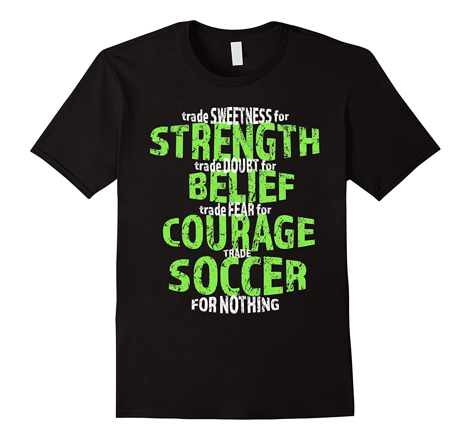 Trade Nothing For Soccer T Shirt for Youths Girls and Boys-Vaci