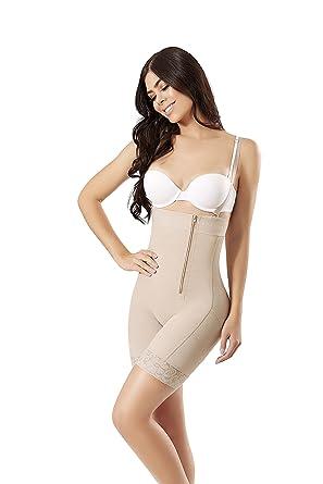 WONDERFUL WF Fajas Colombianas Reductoras y Moldeadoras high Compression Garments After Liposuction Bodysuit 0462 (XS