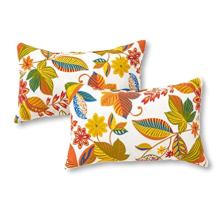 Greendale Home Fashions Rectangle Outdoor Accent Pillow set of 2 , Esprit Skymulti