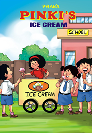 PINKI'S ICECREAM: PINKI COMICS