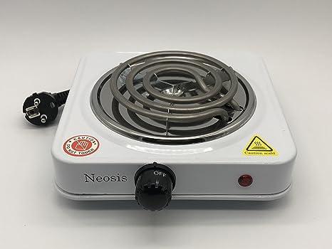 Hornillo eléctrico 1000W para carbón cachimba shisha
