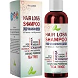 Best Hair Loss Shampoo Potent Hair Loss Fighting Formula Topical Regrowth Treatment Restores Hair Stops Hair Shedding…