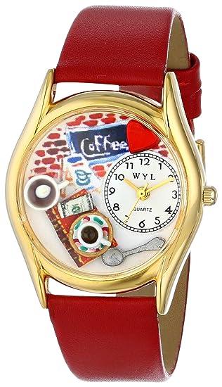 Para Cuarzo Reloj De Whirlpool C0310011 HombreCorrea Cuero kn0XONP8w