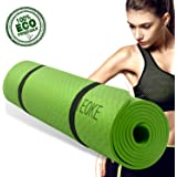 IEOKE Yoga Mat, Sport exercise mat non slip yoga mat with carry strap light weight for Exercise, Yoga and Pilates for women-6.5mm