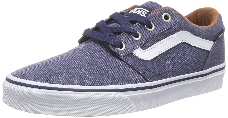 zapatillas hombre azul vans