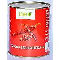 Neo Foods Sliced Red Paprika, 820g